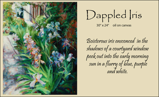 Dappled-Iris-framed123