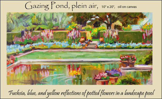 Gazing-Pond,-plein-air-fram