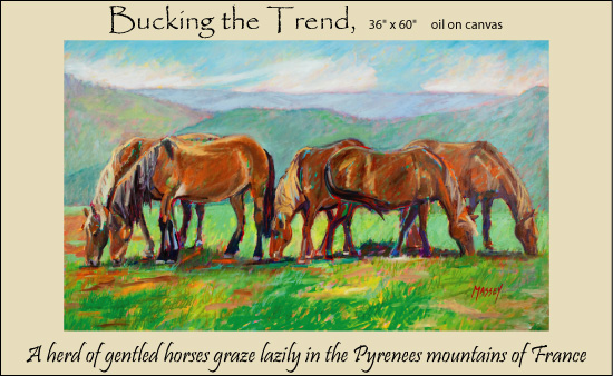 bucking-the-trend-framed
