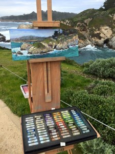 Paul Fortis at Pt Lobos with CCPAP