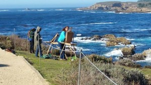 Robin and Marianne at Pt Lobos
